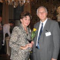 Ája Vrzáňová a Miloš Šuchma v Praze po roce 1989
