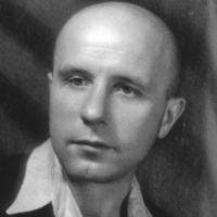 """Velitel operativně-čekistické skupiny """"Fakel"""" J. A. Kozlov (alias """"Bogun""""), foto: Hornické muzeum Příbram"""